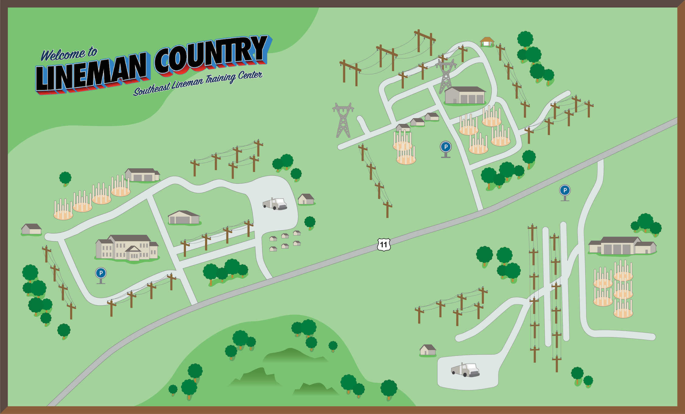 Tour Trifold_Campus Map